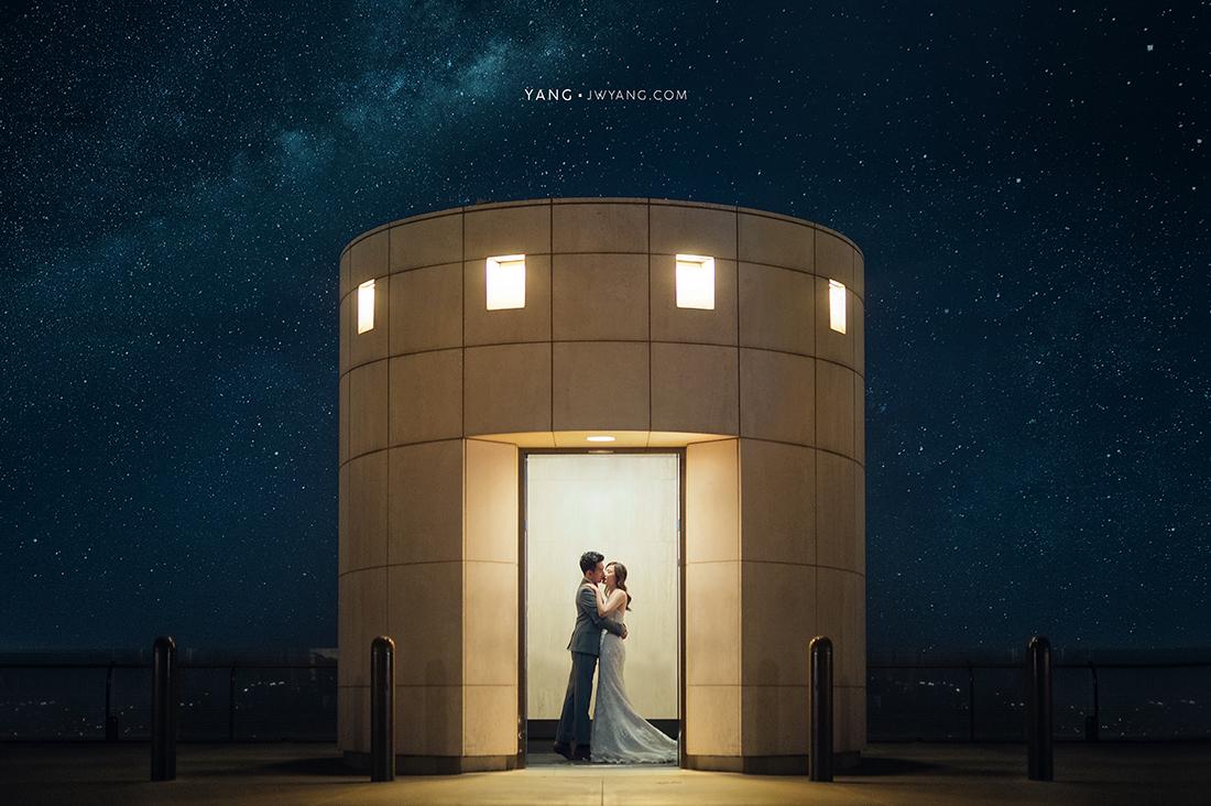 [海外婚紗] B&Y@Los Angeles 婚紗拍攝:Yang+Howard 造型:貝兒傅 禮服:蒂米琪 Demetrios Bridal Room